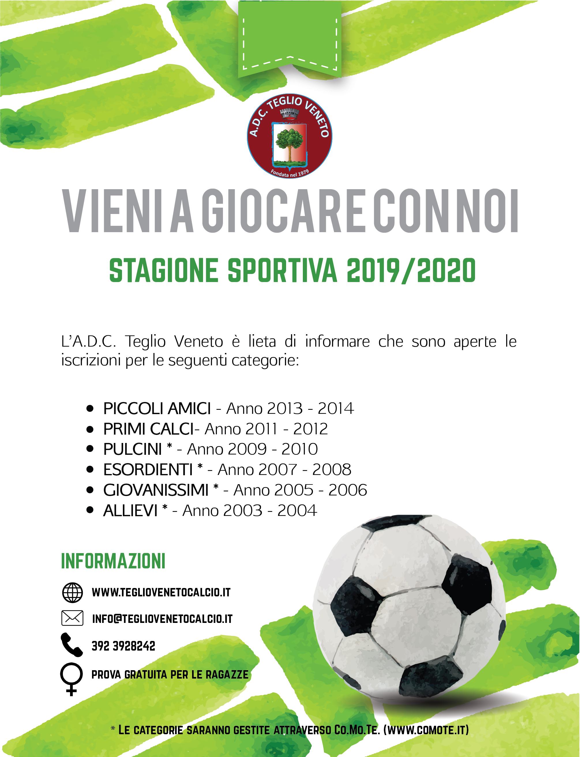 Calendario Seconda Categoria Veneto.Trofeo Regione Veneto Di Seconda Categoria A D C Teglio